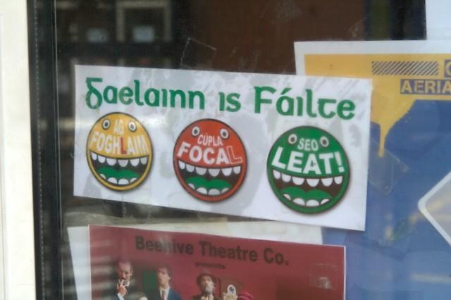 Gaelainn is Fáilte