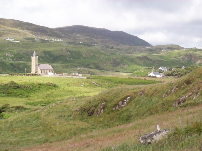 St. Columba's Church, Glencolmcille, Donegal