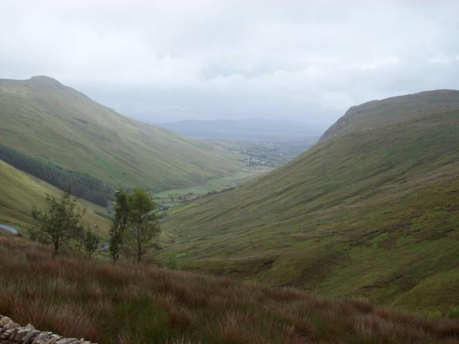 Gleann Geis, in aice le Ard an Ratha, Co. Dhún na nGall, Éire/Glengesh, near Ardara, Co. Donegal, Ireland.
