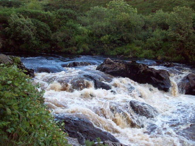 River in County Donegal, Ireland