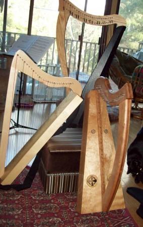 Three harps