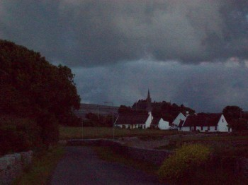 Ballyvaughan Road at Twilight