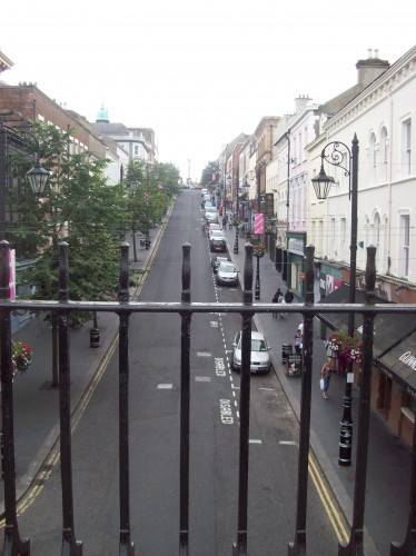 Derry street, looking inward from the wall.