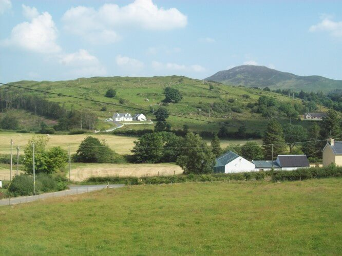 View from my bedroom windown, Glenfin