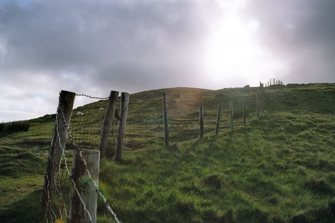 Conor Pass sunshine Ireland