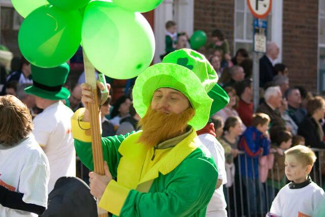 St. Patrick learned Irish Gaelic